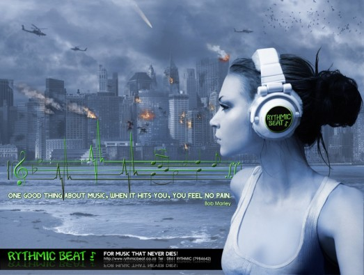 Concept Advert for Rythmic Beat