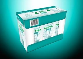 Fat Free Checkers House Brand Milk