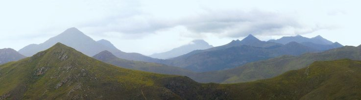 Robinson Pass looking over the Great Swartberg